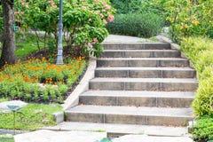 напольные лестницы Стоковое фото RF