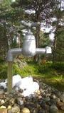 напольный кран стоковое изображение rf