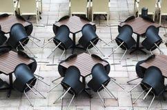 Напольный ресторан Стоковое фото RF