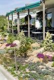 напольный ресторан Стоковое Изображение RF
