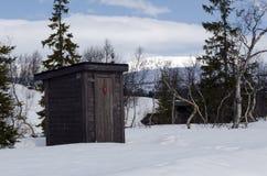 напольный туалет Стоковое Фото