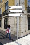 направление афиши пустое Стоковая Фотография RF