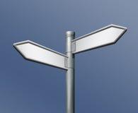 направление стрелки пустое напротив указывать дорожный знак иллюстрация вектора
