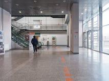 Направления поиска человека в больнице Стоковое фото RF