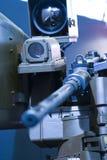 направленная компьютером машина пушки Стоковые Изображения RF