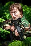 направлять воина пушки Стоковое Изображение RF
