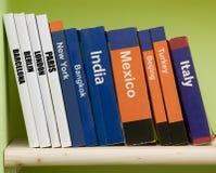 направляющий выступ книг стоковые изображения