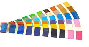 Направляющий выступ цвета для выбора Стоковые Фото