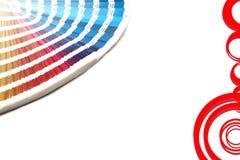 направляющий выступ цвета Стоковое фото RF