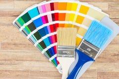 Направляющий выступ палитры цвета Стоковые Изображения RF