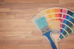 Направляющий выступ палитры цвета Стоковые Изображения