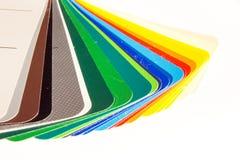 направляющий выступ цвета карточки близкий вверх Стоковые Изображения RF