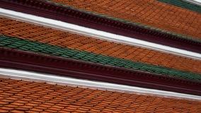 Направляя линии на крыше Стоковые Изображения RF