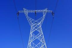 напряжение тока высоких башен Стоковые Изображения RF