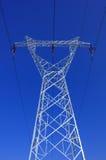 напряжение тока высоких башен Стоковое Изображение RF