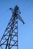 напряжение тока высокой башни Стоковые Фото