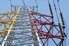 напряжение тока высокой башни Стоковые Фотографии RF