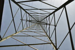 напряжение тока высокой башни 4 Стоковые Изображения RF