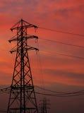 напряжение тока высокой башни Стоковое фото RF