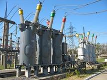 напряжение тока конвертера высокое промышленное Стоковая Фотография RF