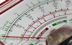 напряжение тока метра Стоковая Фотография