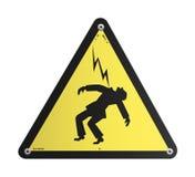 напряжение тока панели опасности высокое Стоковые Фото