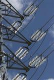 напряжение тока подстанции higt Стоковое Изображение