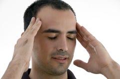 напряжение человека Стоковое фото RF