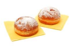 напудренные donuts засахаривают 2 стоковое фото rf