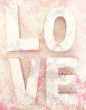 Напудренная влюбленность Стоковое Изображение