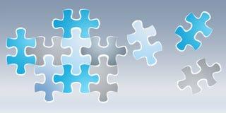 Нарисованная вручную головоломка соединяет эскиз игры Стоковое Изображение RF