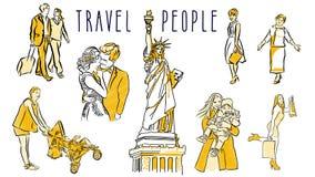 Нарисованная одушевленной рука людей перемещения сделанной эскиз к и бесплатная иллюстрация