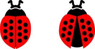 Нарисованная рука, вектор eps вектора Ladybug, Eps, логотип, значок, crafteroks, иллюстрация силуэта для различных польз бесплатная иллюстрация