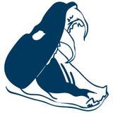 Нарисованная рука, вектор eps вектора Rattlesnake, Eps, логотип, значок, иллюстрация силуэта crafteroks для различных польз иллюстрация вектора