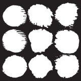 Нарисованная рукой иллюстрация вектора рамки круга grunge бесплатная иллюстрация