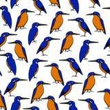 Нарисованная рукой картина птицы Стоковая Фотография RF