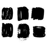 Нарисованное вручную собрание чернил Стоковое Фото