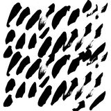 Нарисованное вручную собрание чернил Стоковые Фото