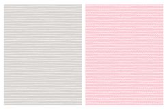 Нарисованные рукой абстрактные картины вектора следа бело Свет - дизайн серого цвета и пинка иллюстрация штока