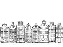 Нарисованные рукой дома doodle бесплатная иллюстрация