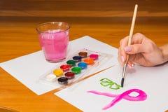 Нарисовать на таблице Стоковое Изображение RF