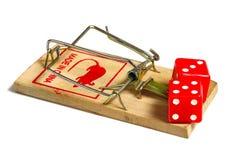 наркомания играя в азартные игры Стоковая Фотография RF