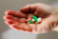 Наркомания - наркомания медицины - социальная проблема Стоковые Фото