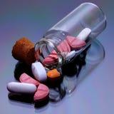 Наркомания - фармацевтическая промышленность Стоковое Изображение
