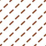 Наркотическая сигара значка Кубы, плоского стиля иллюстрация штока