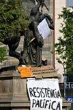 народовластие теперь реальная Испания barcelona Стоковая Фотография RF