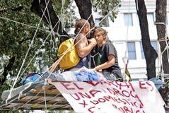 народовластие теперь реальная Испания barcelona Стоковое Изображение RF
