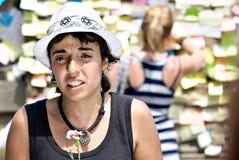 народовластие теперь реальная Испания barcelona Стоковая Фотография
