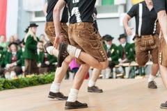 Народный танец Австрии Стоковое фото RF