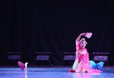 Народный танец соотечественника флаттера- бабочек Стоковое Изображение